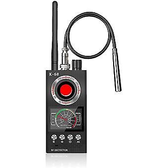 Anti Spy verborgen camera detector, Bug Detector RF Detector verborgen Camera Finder voor draadloze audio bug camera detector finder, verbeterde versie