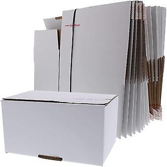 Versandkarton FIX Faltkarton Karton für Amazon Prime Größe XS 20 Stück mit Klebe Deckel und