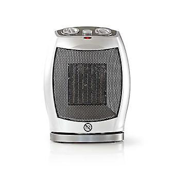 Calentador de ventilador de cerámica nedis | 750 & 1500 W | Gris