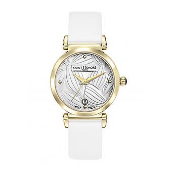 Women's Watch Saint Honor 7520313AGIT - White Leather Strap
