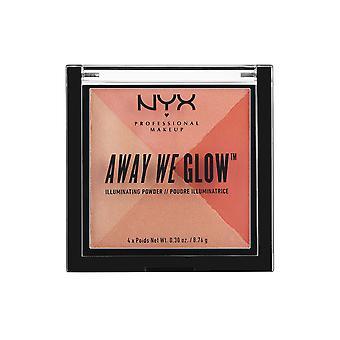 NYXプロフェッショナルメイクアップNYXアウェイ私たちはパウダー8g夏の反射を照らします