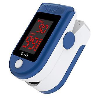 نبض الشاشة الرقمية oximeter الدم الأكسجين تشبع معدل ضربات القلب spo2 رصد مع lanyard az7289