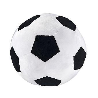 20 * 20Cm noir + blanc amusant jouets de football pour enfants adaptés aux hommes et aux femmes de tous âges az9657