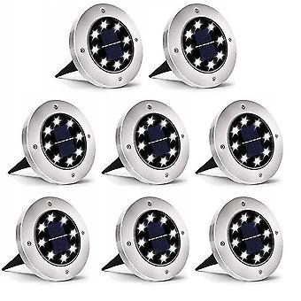 8Pcs solar underground light dt9907