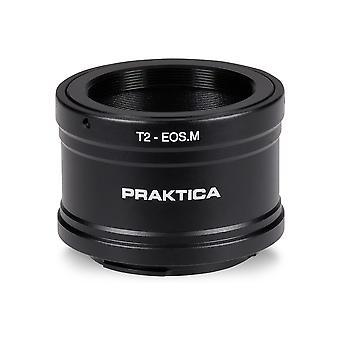 PRAKTICA Digiscoping T2 to Canon M Mount