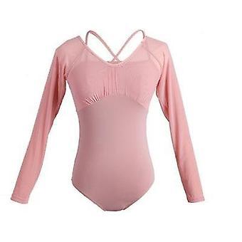 Κοντό/μακρύ μανίκι πλέγμα πλέγμα ενηλίκων μπαλέτο χορό φθορά