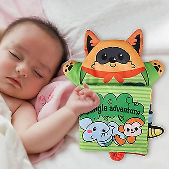 Learning Educational Soft Soft Puppet Cloth Book