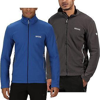Regatta Mens Highton Stretch Lightweight Full Zip Fleece Jacket