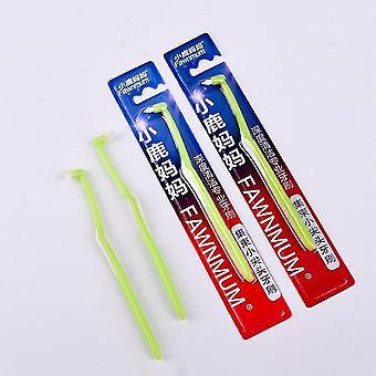 новый 1шт L образная зубная нить дента меж зубочистители зуб щетка зубочистка для полости рта sm62297