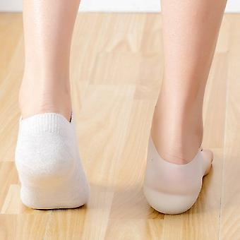 1 Pair Height Increase Insole Invisible Heel Lift Pads Silicone Protect|Foot Care Tool