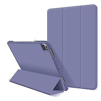 לכיסוי מגן iPad Pro בגודל 11 אינץ', כיסוי קפלי מגנטי חזק (PURPLE)