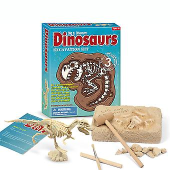 Dinosaur Eggs Excavation Science Kits Children Archeology Biology Party Toys
