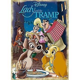 Jumbo Disney Lady ja Kulkurin palapeli (1000 kappaletta)