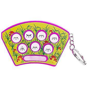 Mini Handheld Spielkonsole, Lectric Memory Spiel und Pädagogisches Spielzeug (Pink)