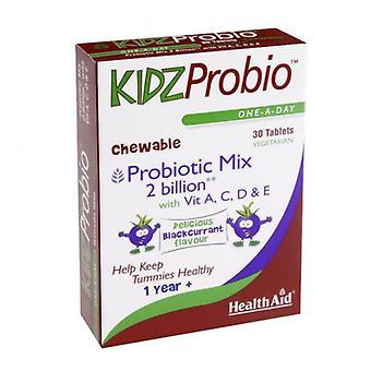 HealthAid KidzProbio (2 מיליארד) טבליות 30 (802327)
