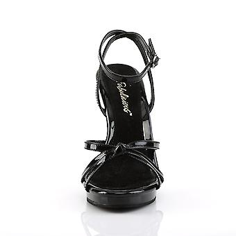 Fabulicious Damen's Schuhe FLAIR-436 Blk Pat/Blk
