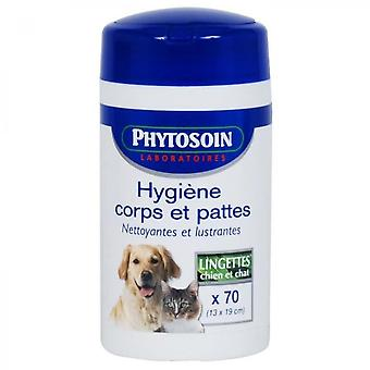 Phytosoin Wipes Body And Paws Dog And Cat