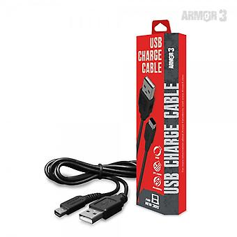 USB Charge Cable for New 3DS/ New 3DS XL/ 2DS/ 3DS XL/ 3DS/ DSi XL/ DSi - Armor3