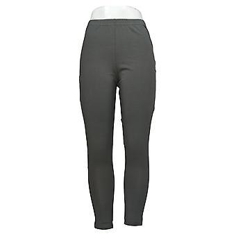 Kvinder med kontrol kvinders bukser trække på strik leggings røg A235949