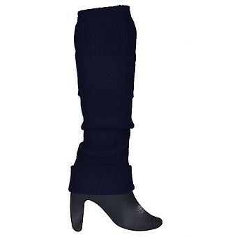 Aquecedores de perna azul escuro