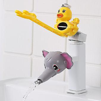 Cartoon Water Tap Extender Lavage des mains pour bébé Robinet Extension Tuyau d'eau anti-éclaboussures (#09)