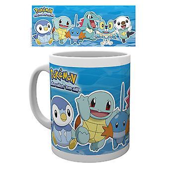 Pokemon Water Partners Mug