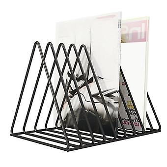 Vinyl Record CD Magazine Storage Rack Album Display Rack Multifunctioneel Verticaal Creatief