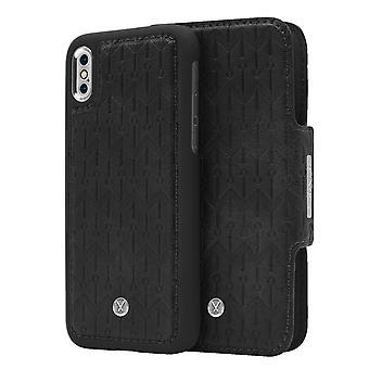 iPhone X / Xs Marvêlle magnetisk skall og lommebok