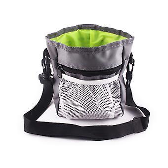 Dog Snack Bag Training Bag portabil Pet Talie Sac cu centura reglabile și detașabile și curea de umăr