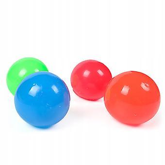 60mm myk klebrig ball dekompresjon ball 10pcs