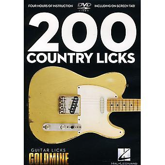 Guitar Licks Goldmin-200 Country Licks [DVD] USA import