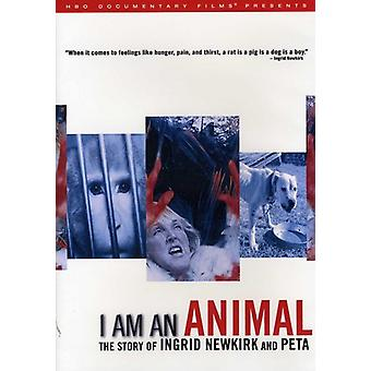 I Am an Animal: The Story of Ingrid Newkirk & Peta [DVD] USA import