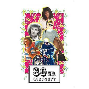 80s quartet 80ies jaren tachtig kwartet van mul nerds kaart 32 kaarten