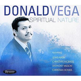 Donald Vega - Spiritual Nature [CD] USA import
