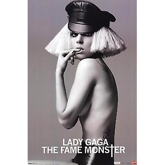 Lady Gaga - berømmelse Monster plakat Print