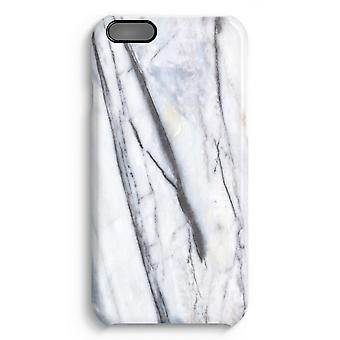 iPhone 6 pluss Full Print saken (glanset) - stripete marmor
