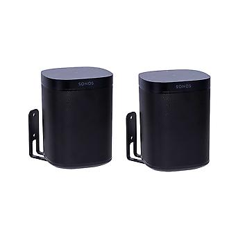 Vebos wall mount Sonos One black set