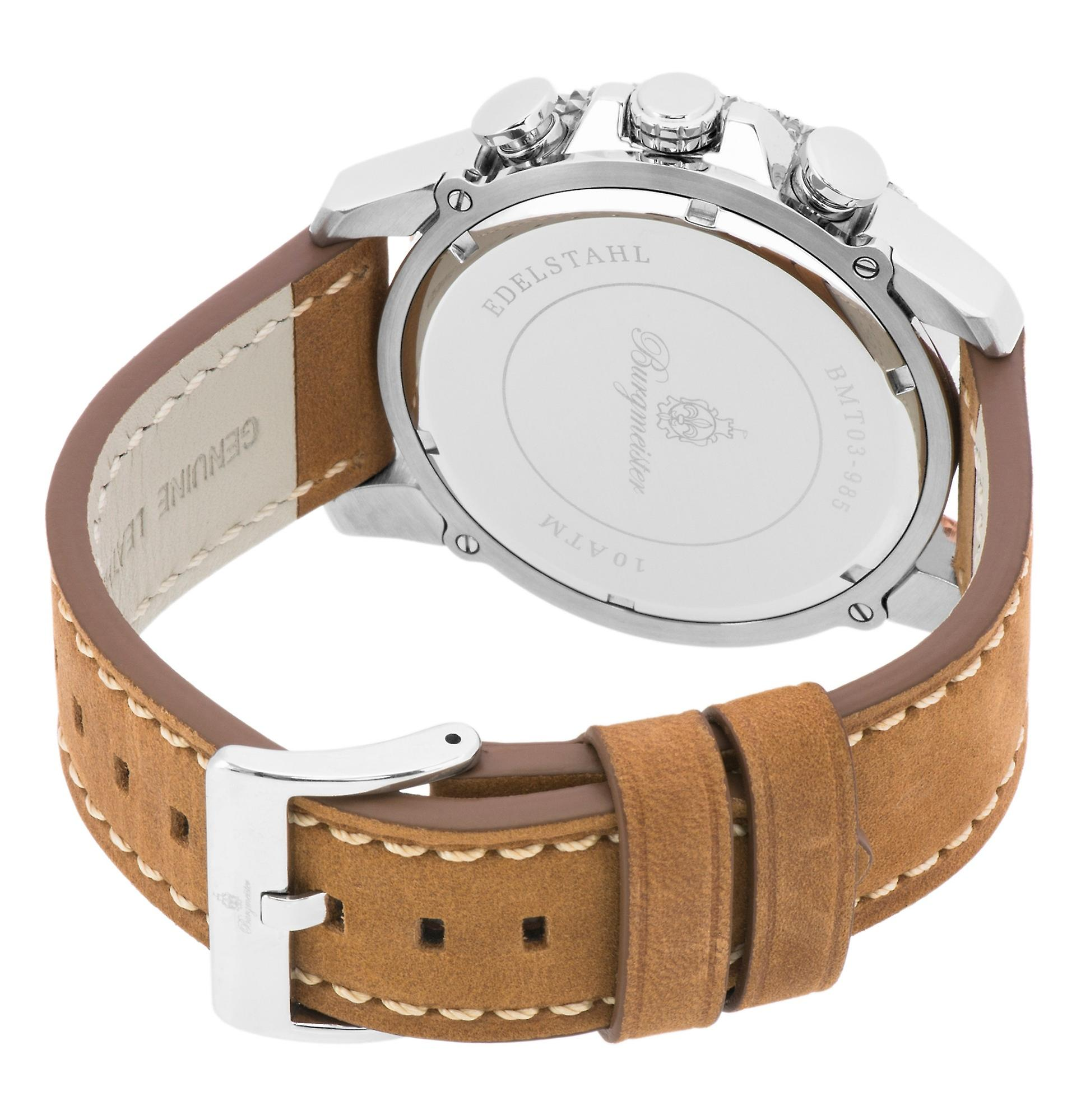 Burgmeister gents chronograph Narbonne, BMT03-985