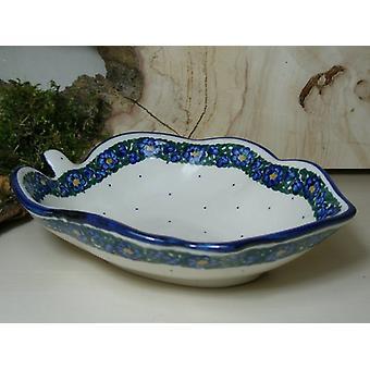 Dish, approx. 19 x 14 cm, height 5 cm, unique - Bunzlauer porcelain - BSN 6559