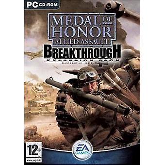 Medal of Honor Allied Assault genombrott expansion pack (PC)-fabriken förseglad