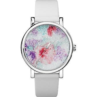 Timex ladies watch crystal bloom 38 mm leather bracelet TW2R66500