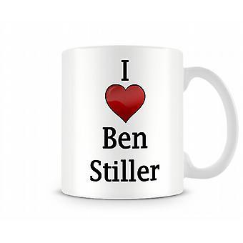 I Love Ben Stiller Printed Mug