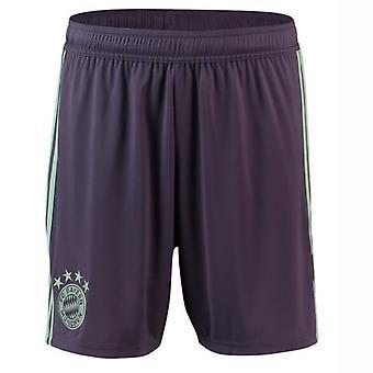 2018-2019 Bayern München Adidas Away Shorts (lila)