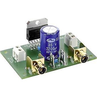 Conrad componenti Stereo amplificatore Assembly kit 9 Vdc, 12 Vdc, 18 Vdc 35 W 2 Ω