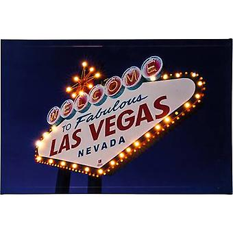 Heitronic Las Vegas 34083 LED picture Las Vegas LED (monochrome) Warm white Multi-coloured