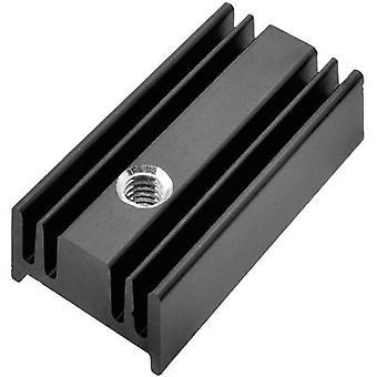 Pada Engineering 8152/25/ST Pin heat sink 54 K/W (L x W x H) 25 x 12.4 x 6.5 mm TO 220