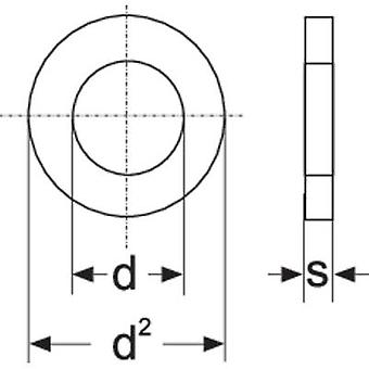 Arandelas 4,3 mm 9 mm Acero inoxidable A2 100 uds. TOOLCRAFT A4,3 D125-A2 188710