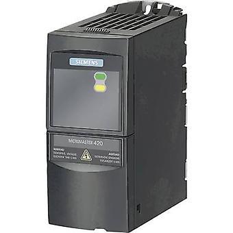 Siemens Frequenzumrichter MICROMASTER 420 0,25 kW 1-phasig