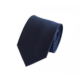 Slips bindebånd binder 8cm mørkeblå blå uni Fabio Farini