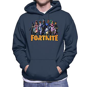 Fortnite Character Montage Men's Hooded Sweatshirt